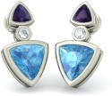 BlueStone The Urban Charms White Gold Stud Earring
