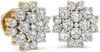 WearYourShine By PCJ The Brielle Diamond 18 K Diamond Gold Stud Earring