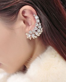 Cinderella Fashion Jewelry Stylish Alloy Cuff Earring