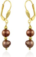 Pearlz Ocean Yellow Gold Plated Alloy Clip-on Earring