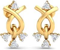 Kamakhya Jewels Stud Earring 18 K Diamond Gold Drop Earring