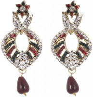 SP Jewellery Rhodium Plated Alloy Drop Earring