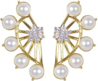 Muchmore Cute Pearl Alloy Cuff Earring