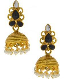 Anuradha Art Traditional Alloy Jhumki Earring
