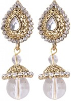 SP Jewellery Rhodium Plated Alloy Drop Earring - ERGEY6NKBCCPMNEC
