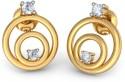 BlueStone The Angela Earrings Yellow Gold Stud Earring