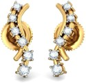 BlueStone The Mystique Journeys Yellow Gold Stud Earring