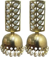 Deco Junction Fancy Jhumki With Earring Alloy Jhumki Earring