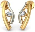 BlueStone The Delacoure Gold Stud Earring