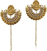 Dancing Girl Traditional & Ethnic Alloy Chandbali Earring