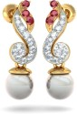 BlueStone The Enchanting Melodys Yellow Gold Drop Earring
