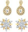 Mahi Brass, Alloy Earring Set