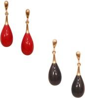11Girls Beautiful Korean Design Hanging Combo Of 2 Pairs Alloy Earring Set