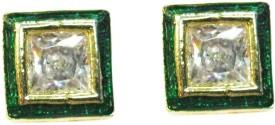 vinayak kundan meena Cubic Zirconia Alloy Stud Earring