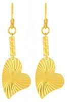 Style Fiesta Deco Heart Earrings Alloy Drop Earring
