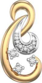 I Love Diamonds Unicorn Tail Earrings 18 K Diamond Yellow Gold Drop Earring