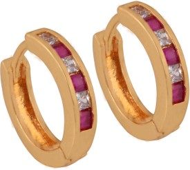 SuperShineJewelry Spring Sparkle Zircon Brass Cuff Earring