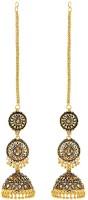 GoldNera Antique KaanCain Alloy Jhumki Earring