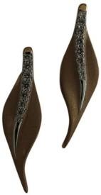 Trinity Spring Sparkle 18 K Diamond Rose Gold Stud Earring