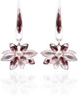 Trendy Baubles Rhodium Plated Metal Drop Earring