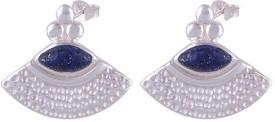 Silver Prince Designer Lapis Lazuli Silver Drop Earring