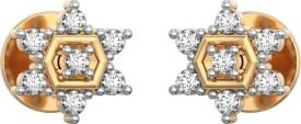 I Love Diamonds Starla Spark Earrings 18 K Diamond Yellow Gold Stud Earring