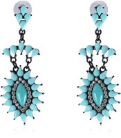 Vastradi Jewels Dazzling Brass, Alloy Drop Earring