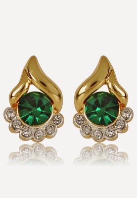 Alloy Estelle 427\/725 ER SMP 2TN Alloy Stud Earring (Green)