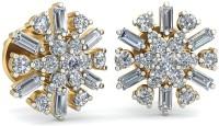 WearYourShine By PCJ The Runah 18 K Diamond Gold Stud Earring