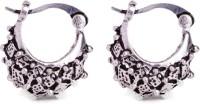 Makezak Jaipuri Meenakari Brass Hoop Earring