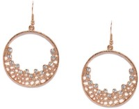 Toniq Gold Metal Dangle Earring