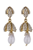 SP Jewellery Rhodium Plated Alloy Drop Earring - ERGEY6NKRDA5EXYT