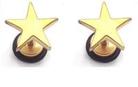 Vaishnavi First Quality Korean Made Non-Allergic 22K Gold Coated Star Design Stainless Steel Stud Earring