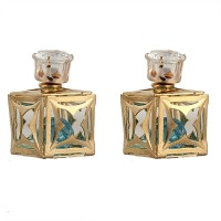 FemNmas Hollow Square Double Sided Alloy Stud Earring