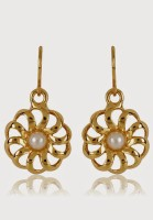 Estelle 459/725 ER SMP BG WHITE PEARL Alloy Drop Earring