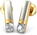 BlueStone The Jelya Yellow Gold Stud Earring