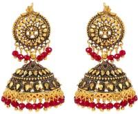 Tsquare Antique Round Alloy Jhumki Earring