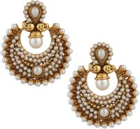 Adiva Traditional & Ethnic Alloy Chandbali Earring