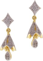 Sixmeter Sixmeter Jewels Golden Copper Dangle & Drop Earrings For Women (Az-Er-338) Alloy Drop Earring