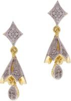 Sixmeter Sixmeter Jewels Golden Copper Dangle & Drop Earrings For Women (Az-Er-338) Alloy Drop Earring