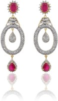 Alysa Aamrapali ES080401 Rhodium, 18K Yellow Gold Cubic Zirconia Alloy Drop Earring