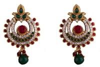 R18Jewels-Fashion&U Royal Princess Swaragini Metal Chandbali Earring