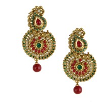 Dg Jewels Traditional Metal, Alloy Chandbali Earring