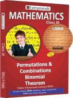 Extraminds Class XI Maths Title 6 Lectures DVD