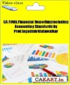 CAKART CA Final Financial Reporting Including Accounting Standards By Prof Jagadish Walawalkar - Pen Drive