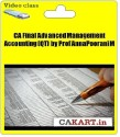 CAKART CA Final Advanced Management Accounting (QT) By Prof AnnaPoorani M - Pen Drive