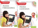Inception Learn Adobe Fireworks + Adobe InDesign (CD)