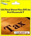CAKART CA Final Direct Tax (DT) By Prof Ramnath V - Pen Drive