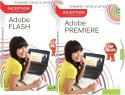Inception Learn Adobe Flash  + Adobe Premiere (CD)