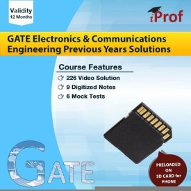iProf GATE Electronics and Communications Engineering Previous Years Solutions SD Card